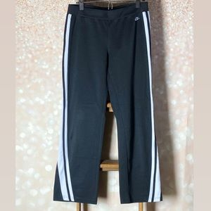 Nike Black and White Athletic Pants Size Medium
